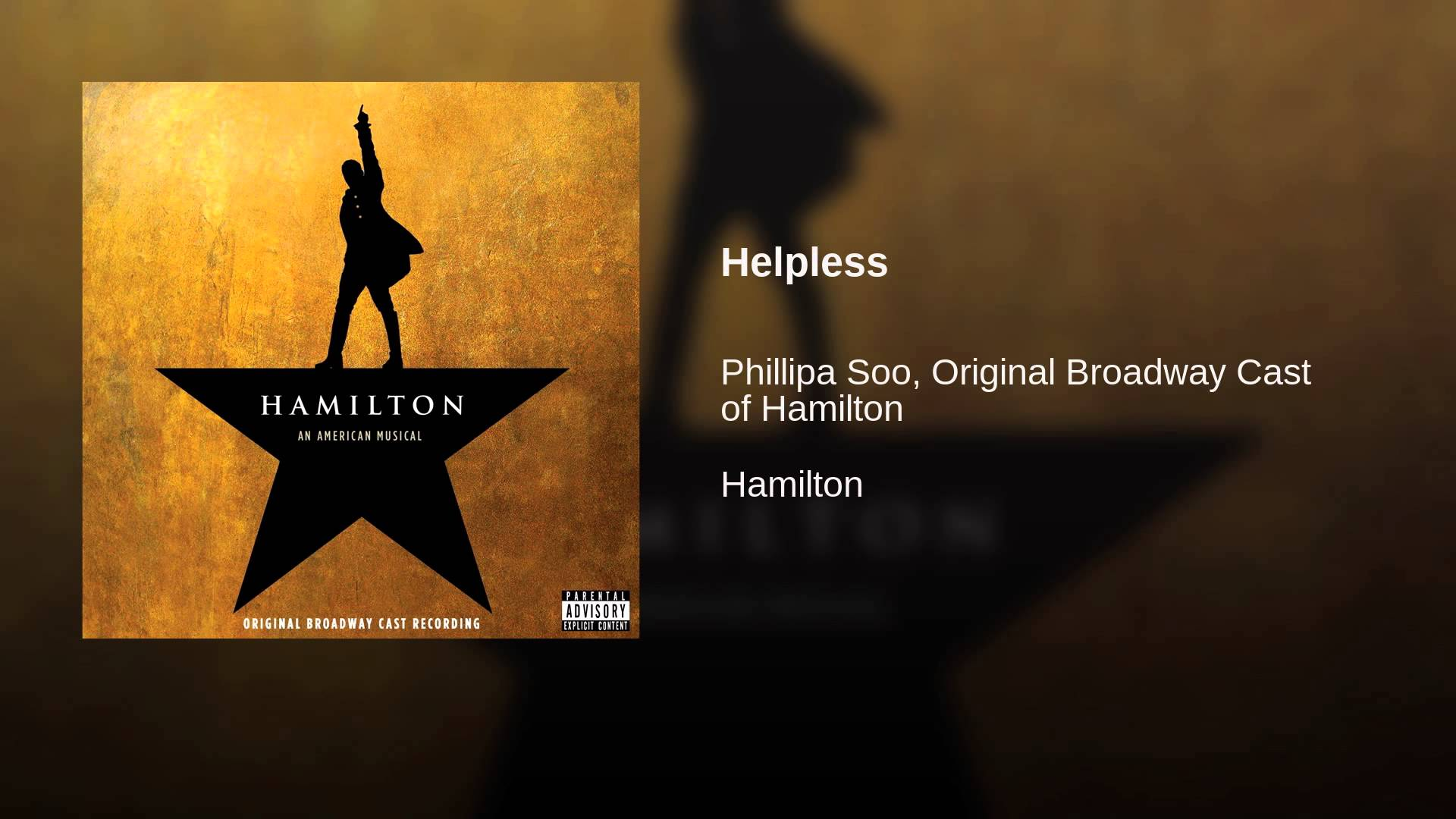 Lin-Manuel Miranda: Helpless/Satisfied