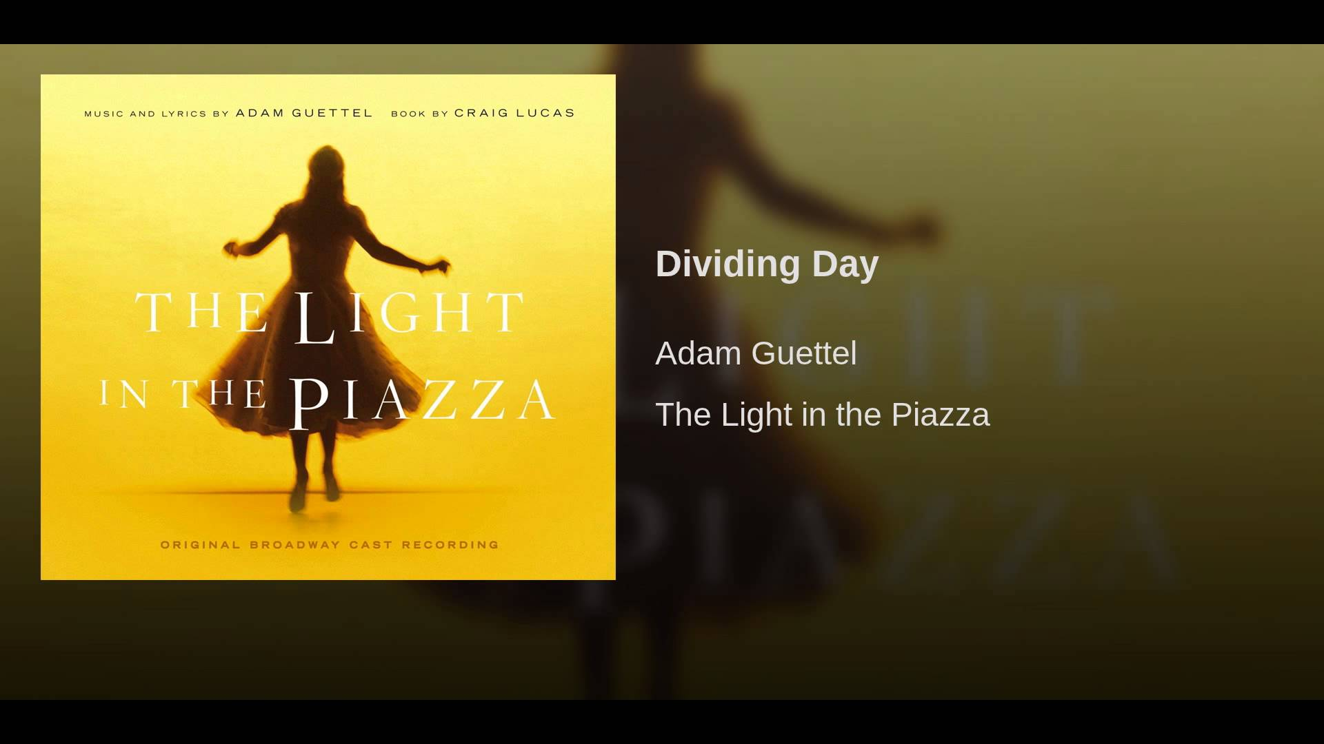 Guettel: Dividing Day