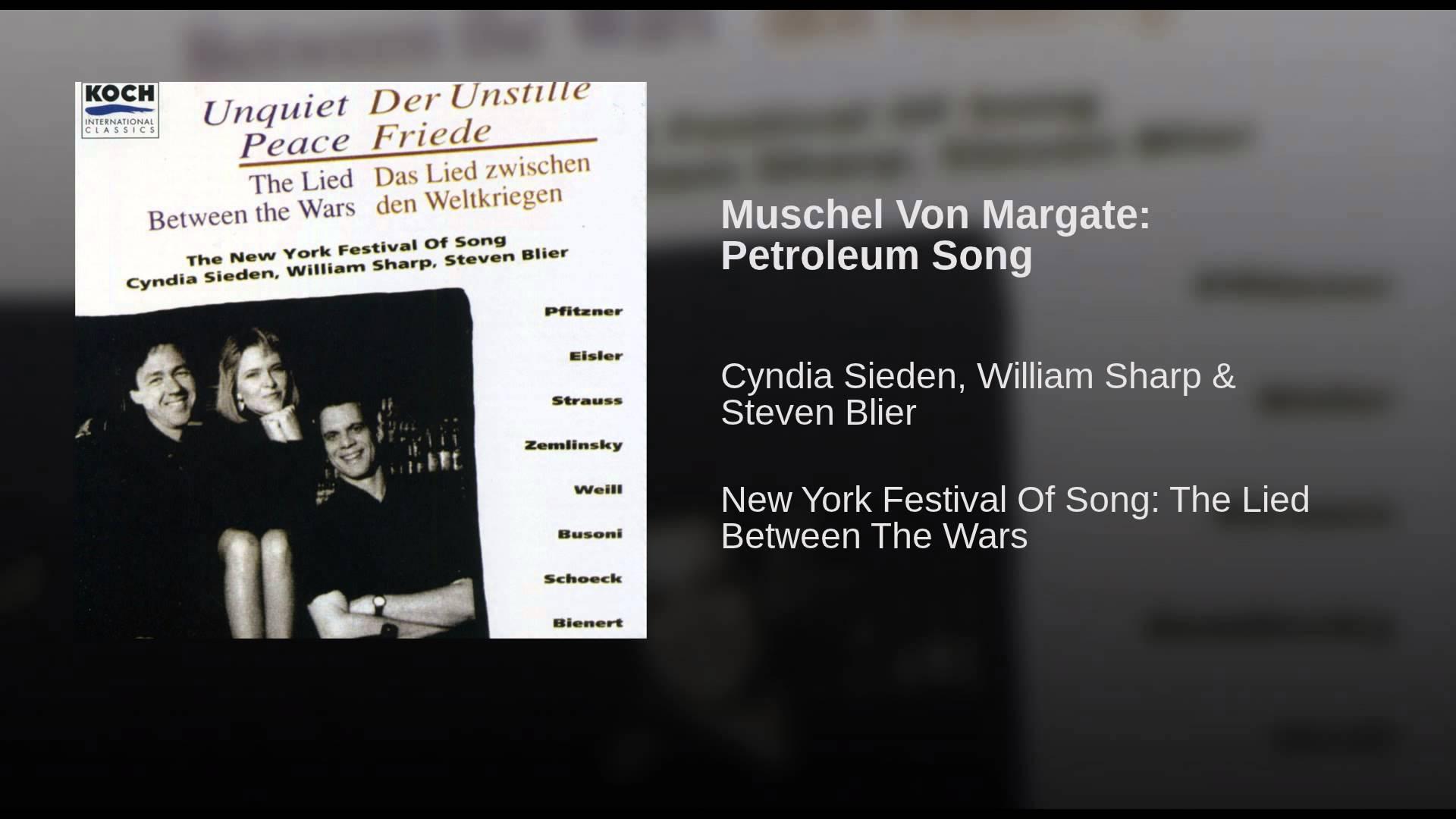 Kurt Weill:  Muschel von Margate