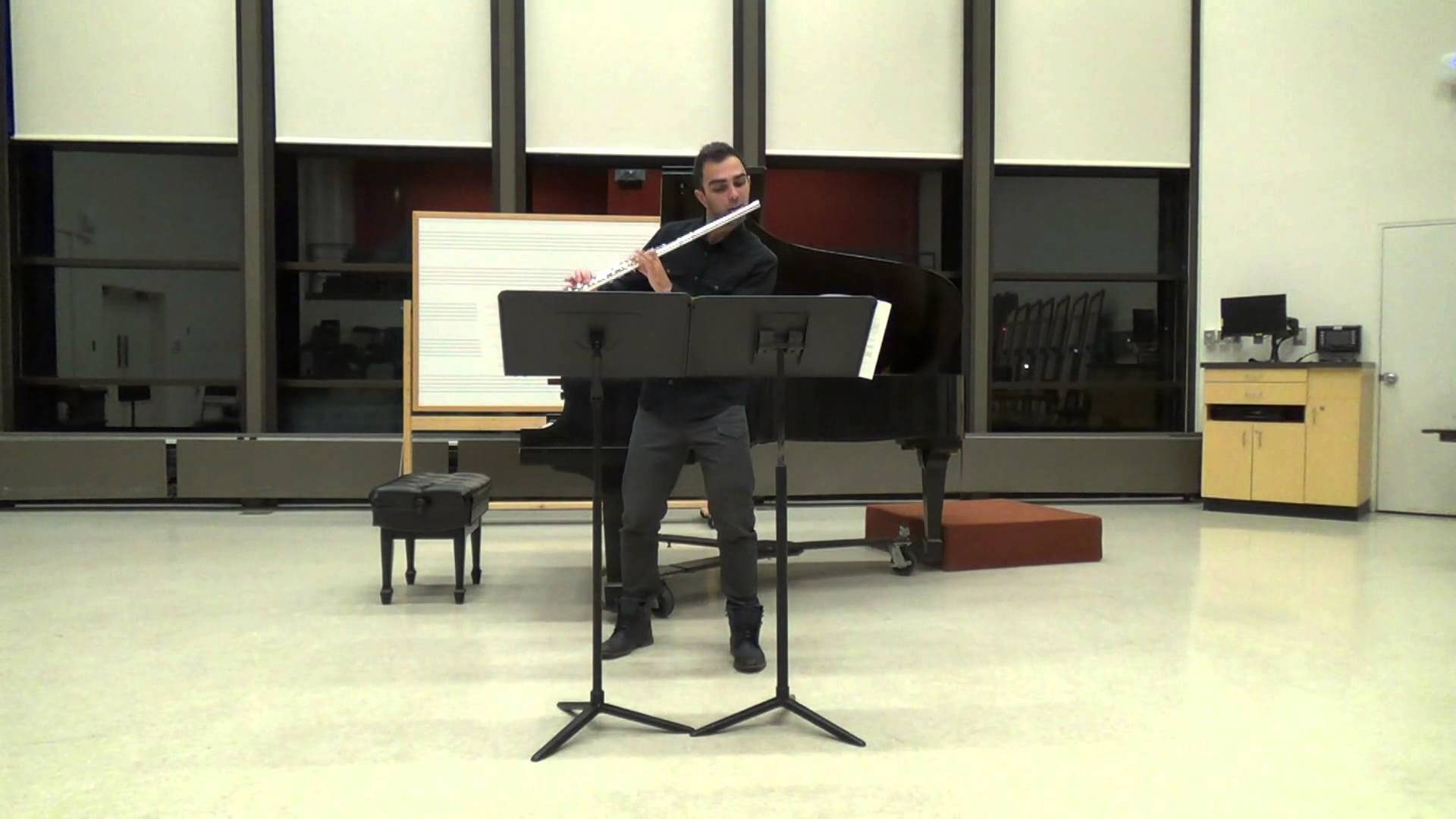 Theo Bleckmann:  Duet for One