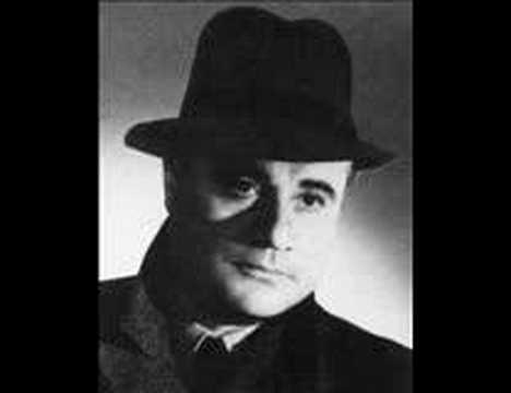 """Puccini: """"No, pazzo son"""" from Manon Lescaut, sung by Beniamino Gigli"""