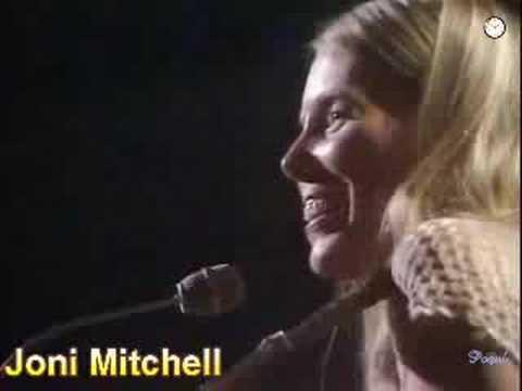 Joni Mitchell:  Big Yellow Taxi