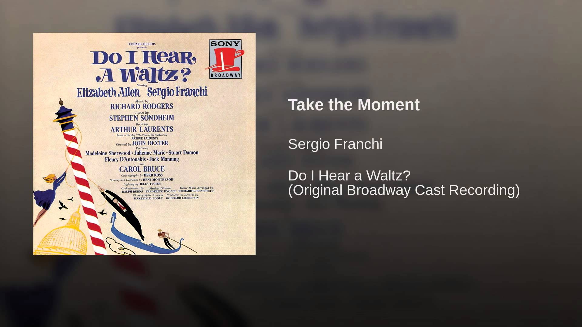 Richard Rodgers:  Take the Moment