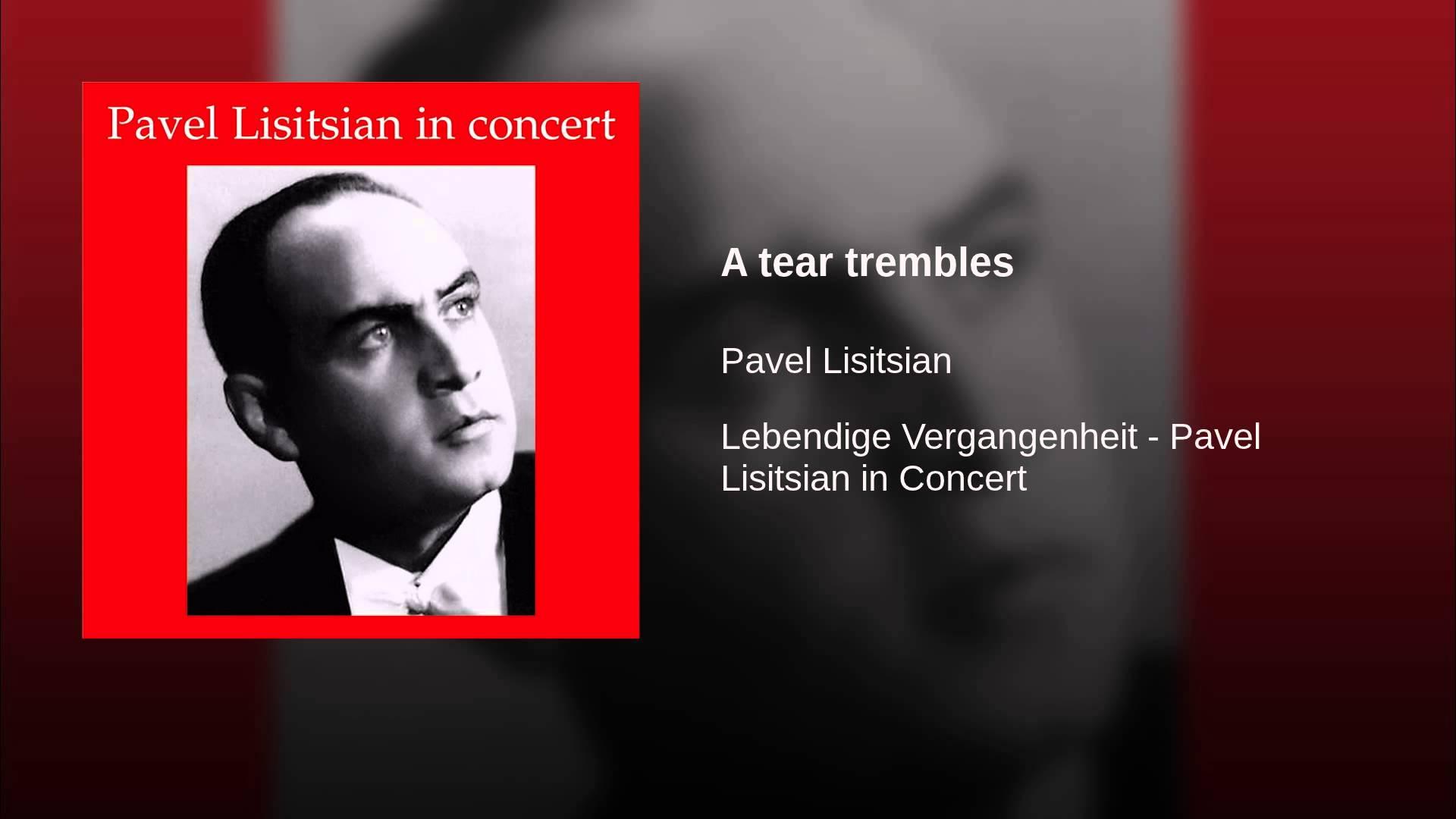 Tchaikovsky: A Tear Trembles