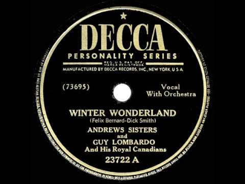 "Guy Lombardo plays ""Winter Wonderland"""