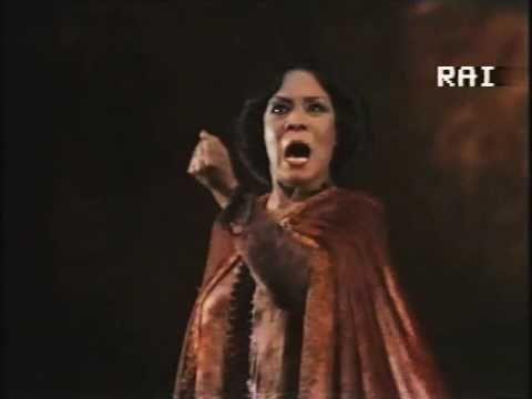 Shirley Verrett sings Lady Macbeth's aria (Verdi)