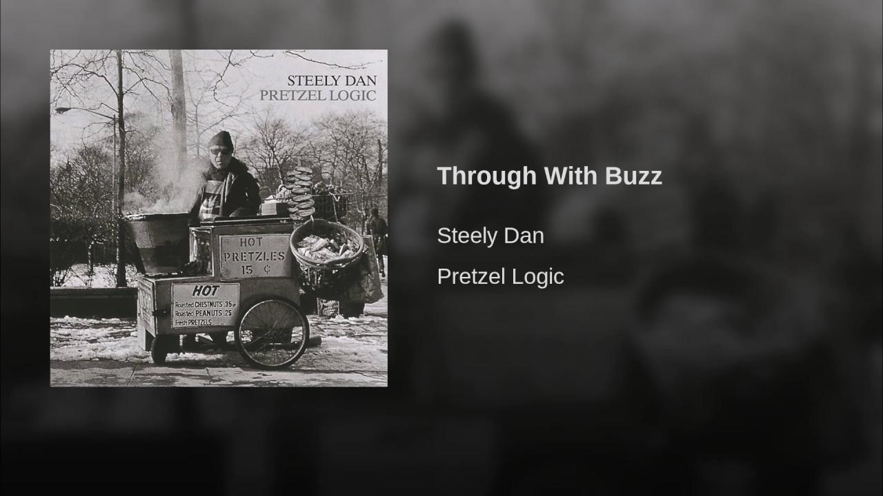 Donald Fagen:  Through With Buzz