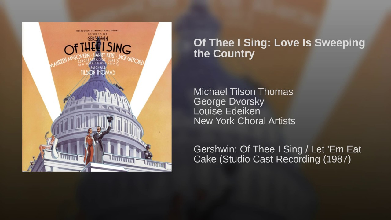 Gershwin: Love Is Sweeping the Country