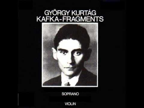 György Kurtág: Es blendete uns die Mondnacht (from Kafka-Fragmente)