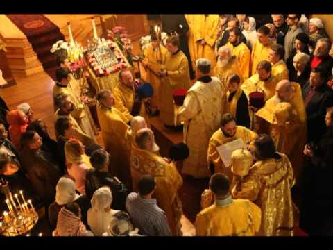 Kontakion of the Mother of God sung by Cappella Romana