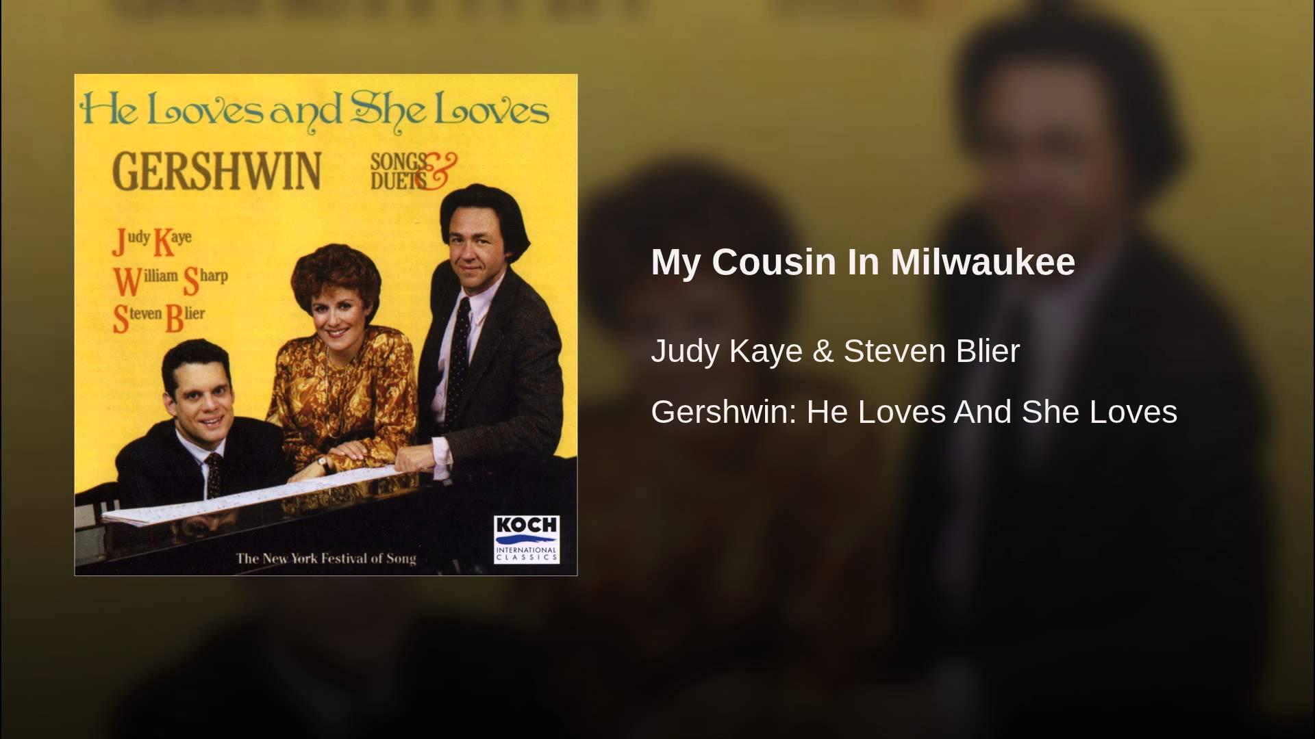 George Gershwin:  My Cousin In Milwaukee