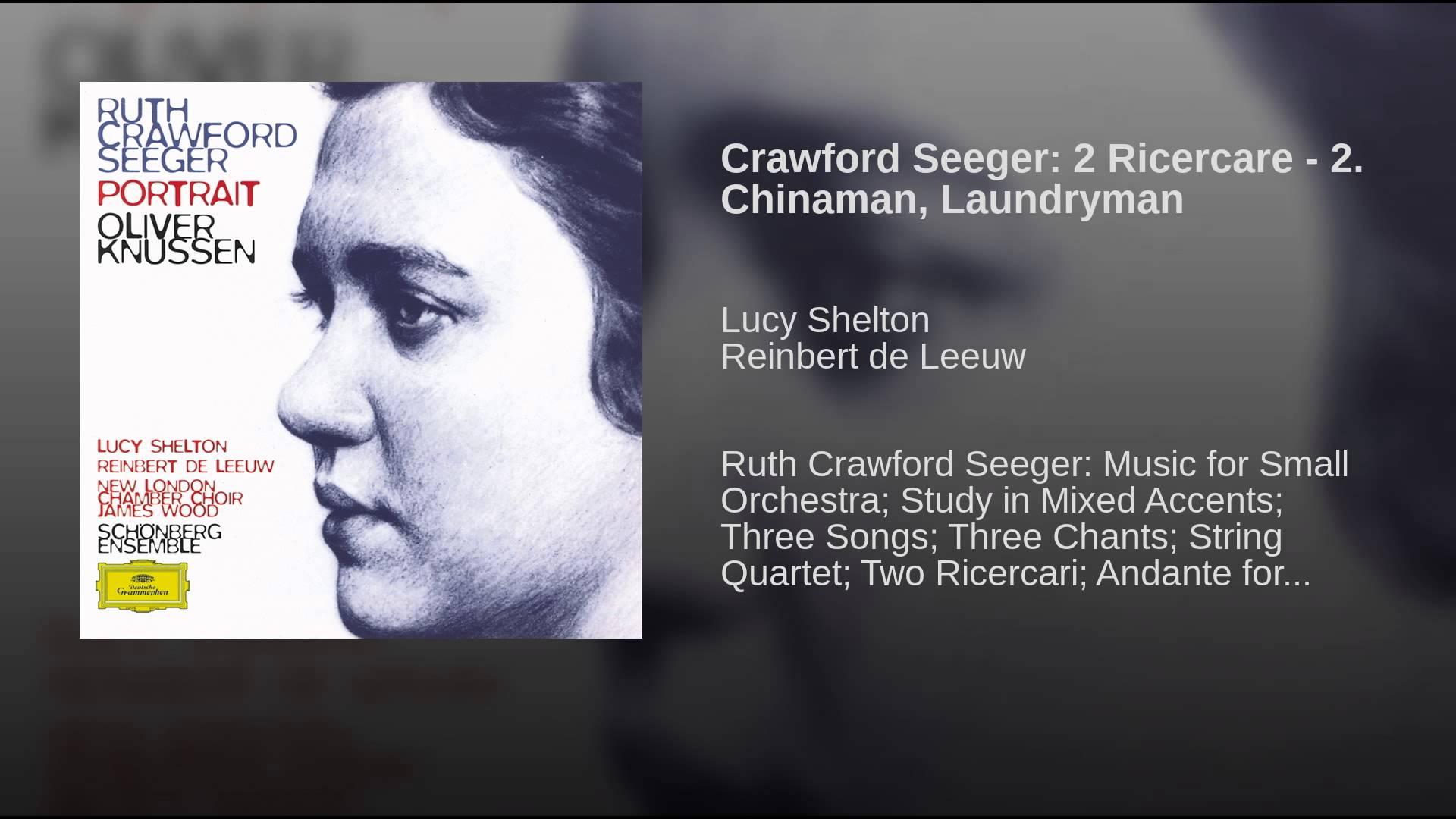 Ruth Crawford: Sacco and Vanzetti