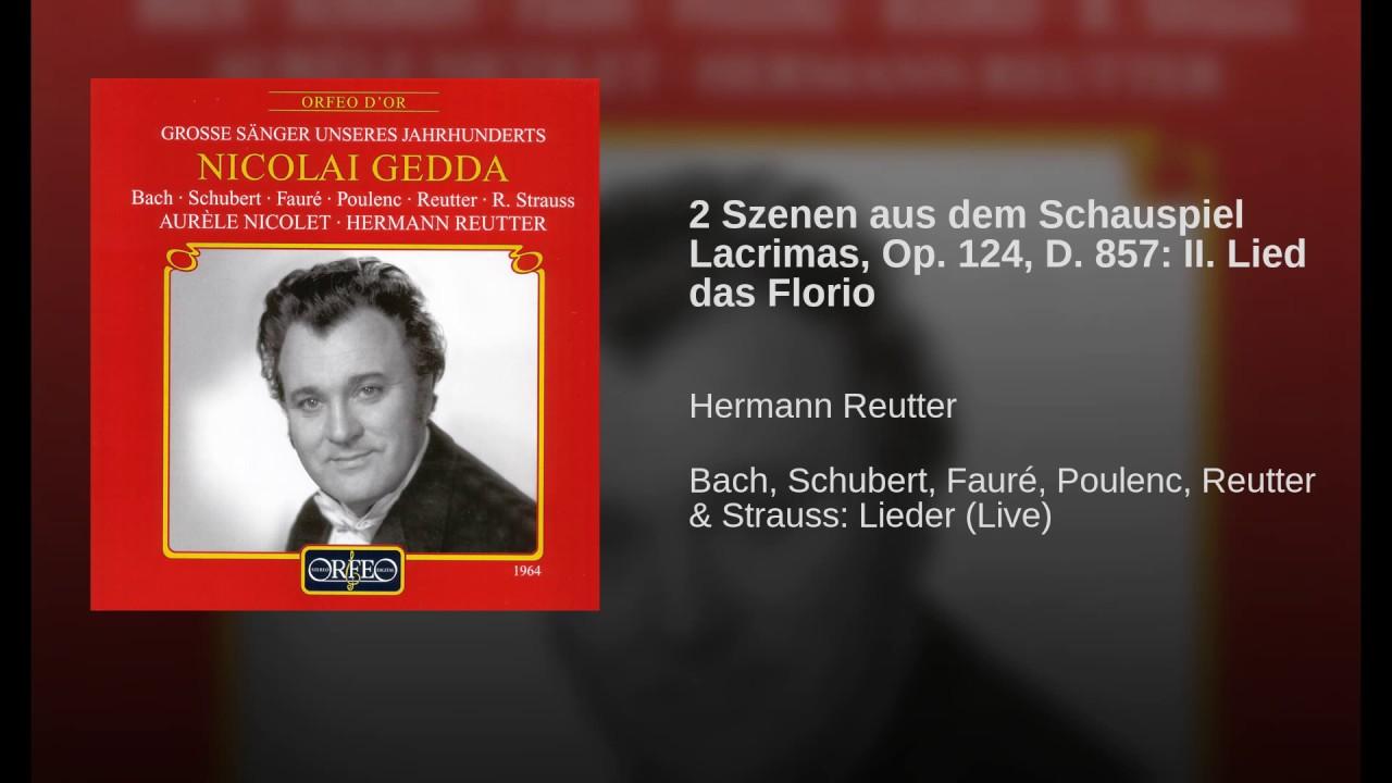 Franz Schubert:  Lied das Florio