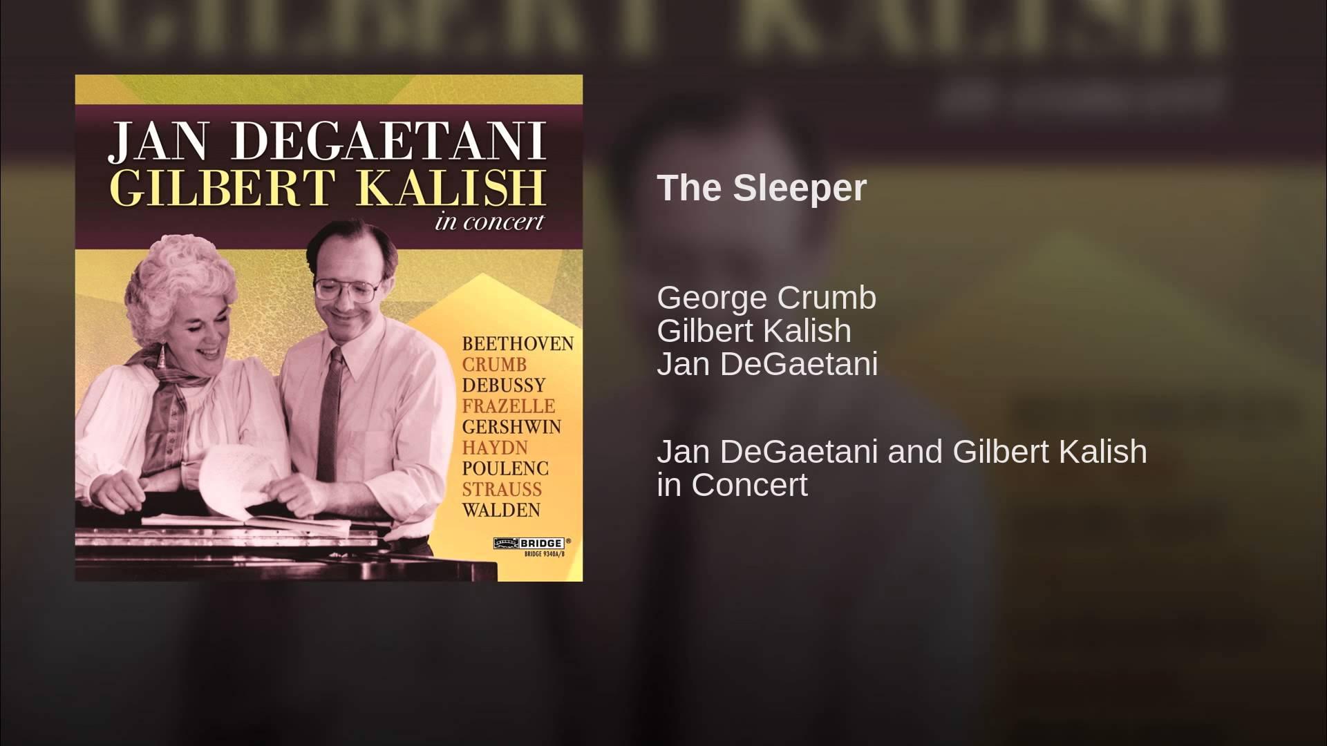 George Crumb: The Sleeper