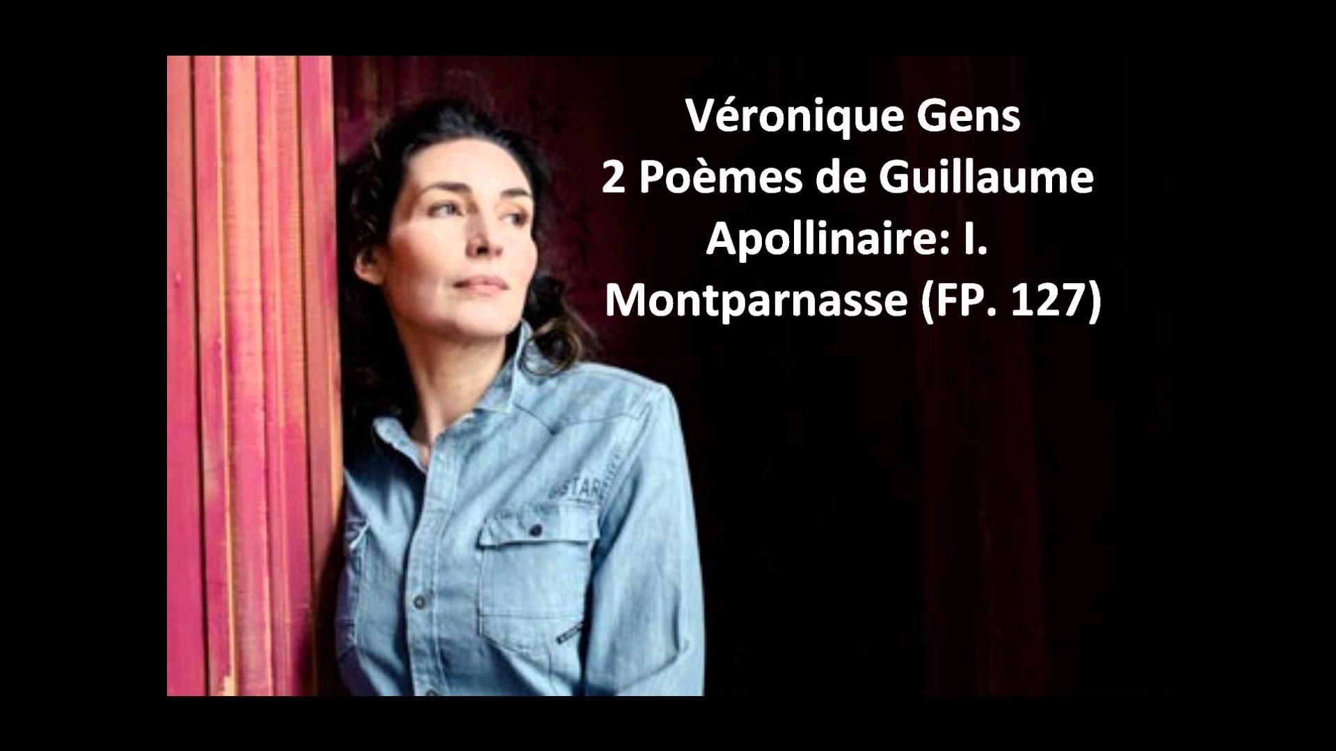 Françis Poulenc:  Montparnasse