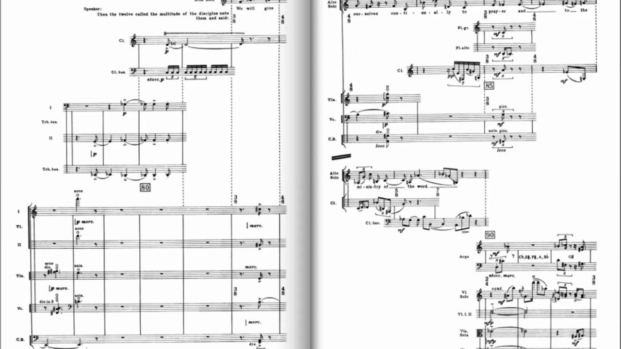 Igor Stravinsky: A Sermon, a Narrative and a Prayer