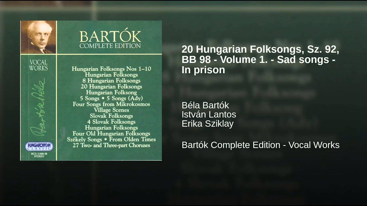 Béla Bartók: Tomlocben