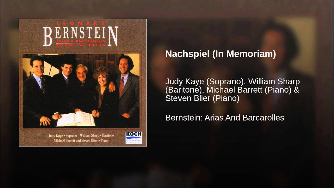 Bernstein: Nachspiel