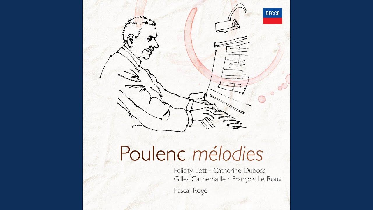 Francis Poulenc:  L'une d'avril