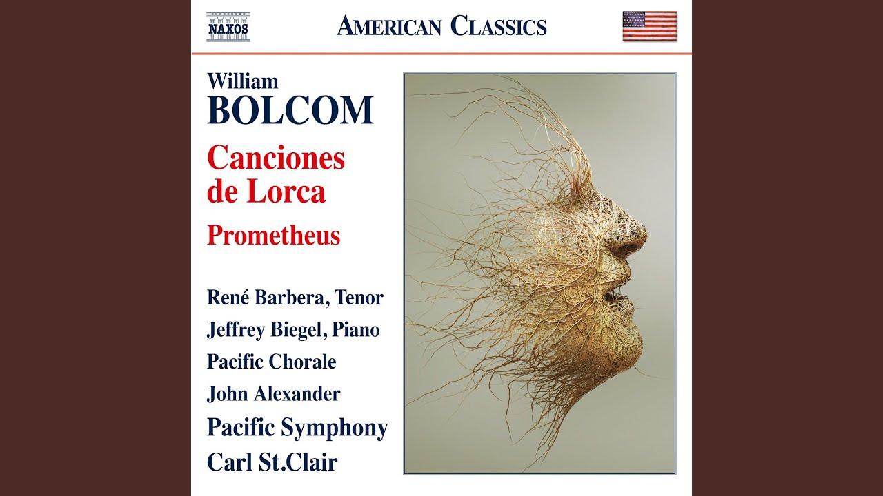 William Bolcom: Soneto de la dulce queja