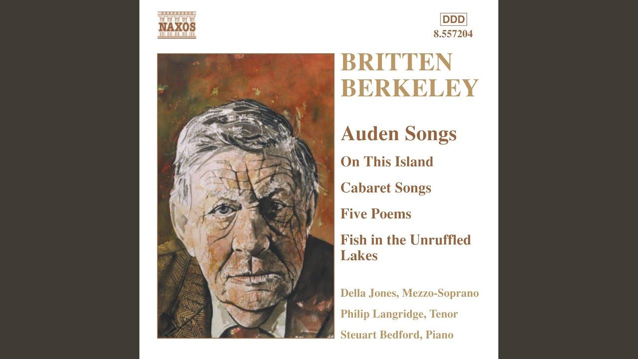 Benjamin Britten:  Night covers up the rigid land