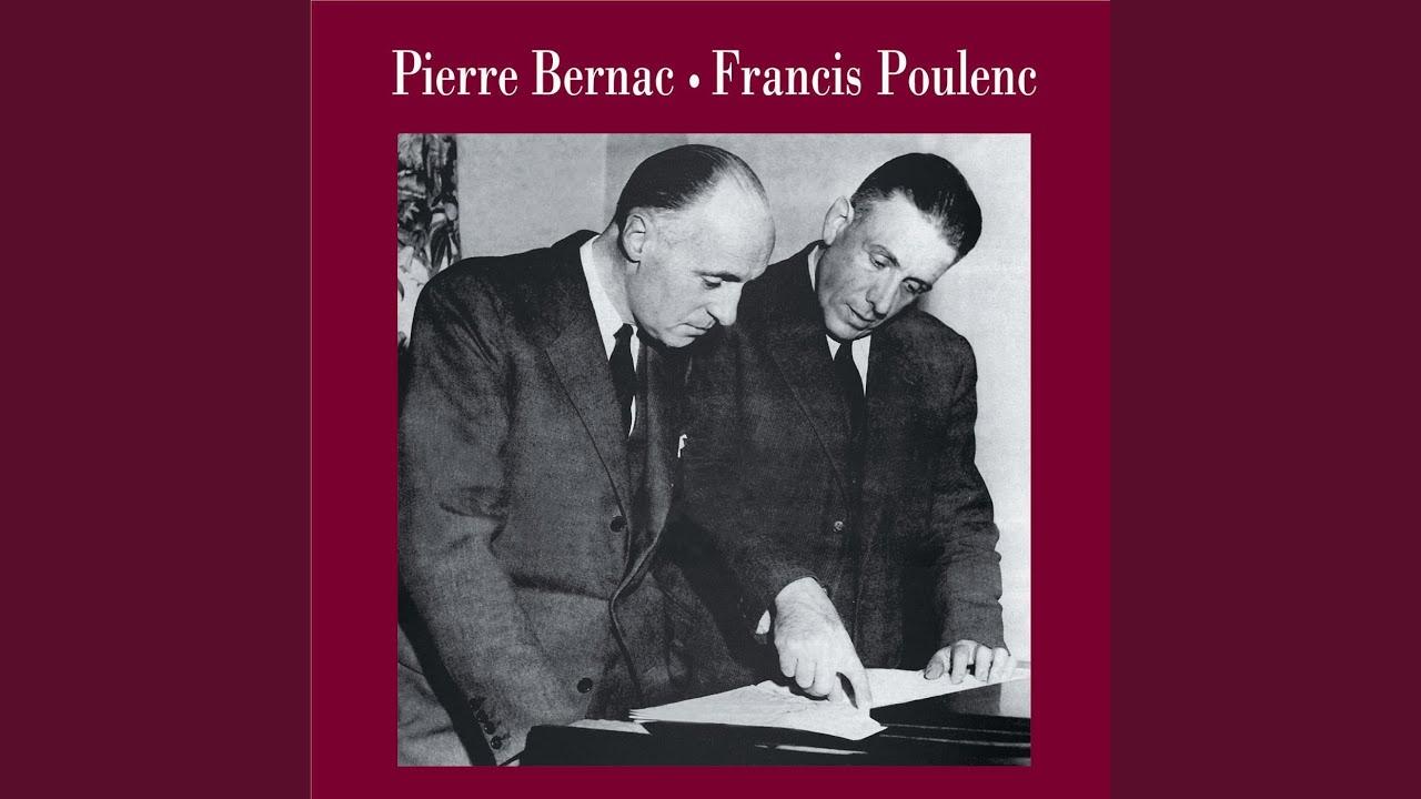 Francis Poulenc: Sanglots