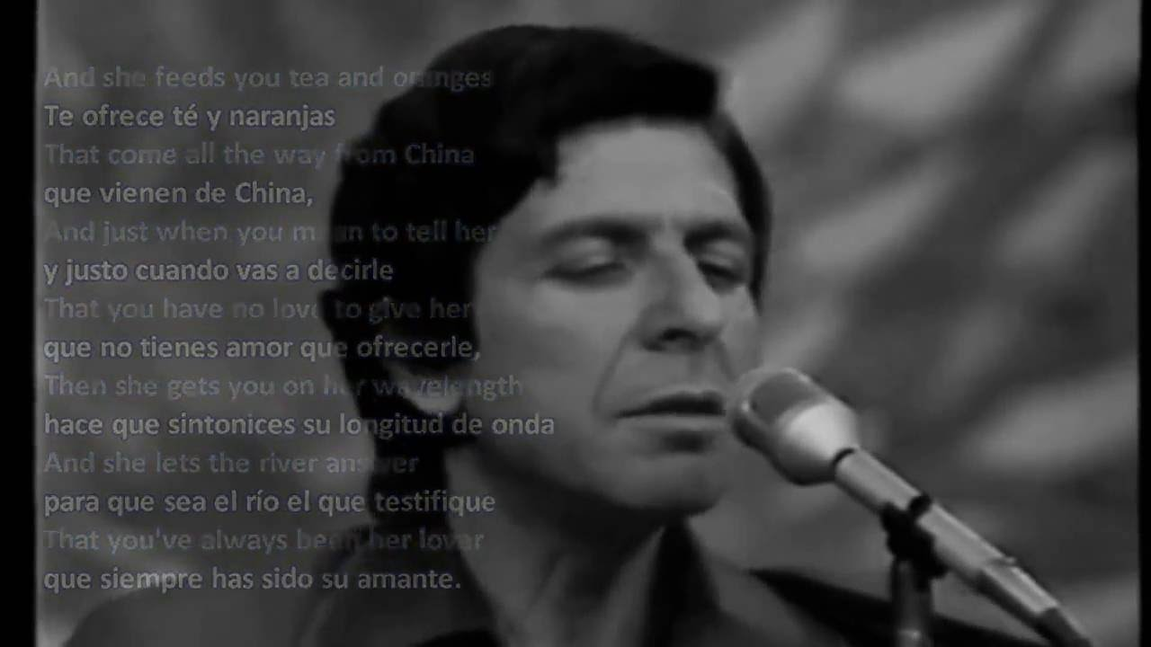 Leonard Cohen:  Suzanne