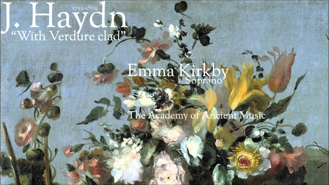 Haydn: With Verdure Clad