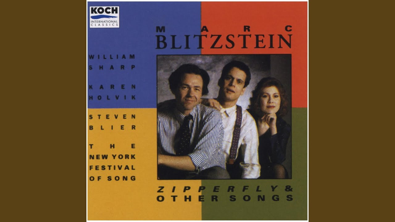 Marc Blitzstein: Stay In My Arms
