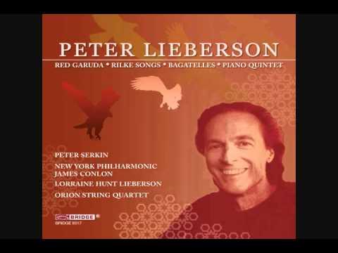 Peter Lieberson: O Ihr Zärtlichen