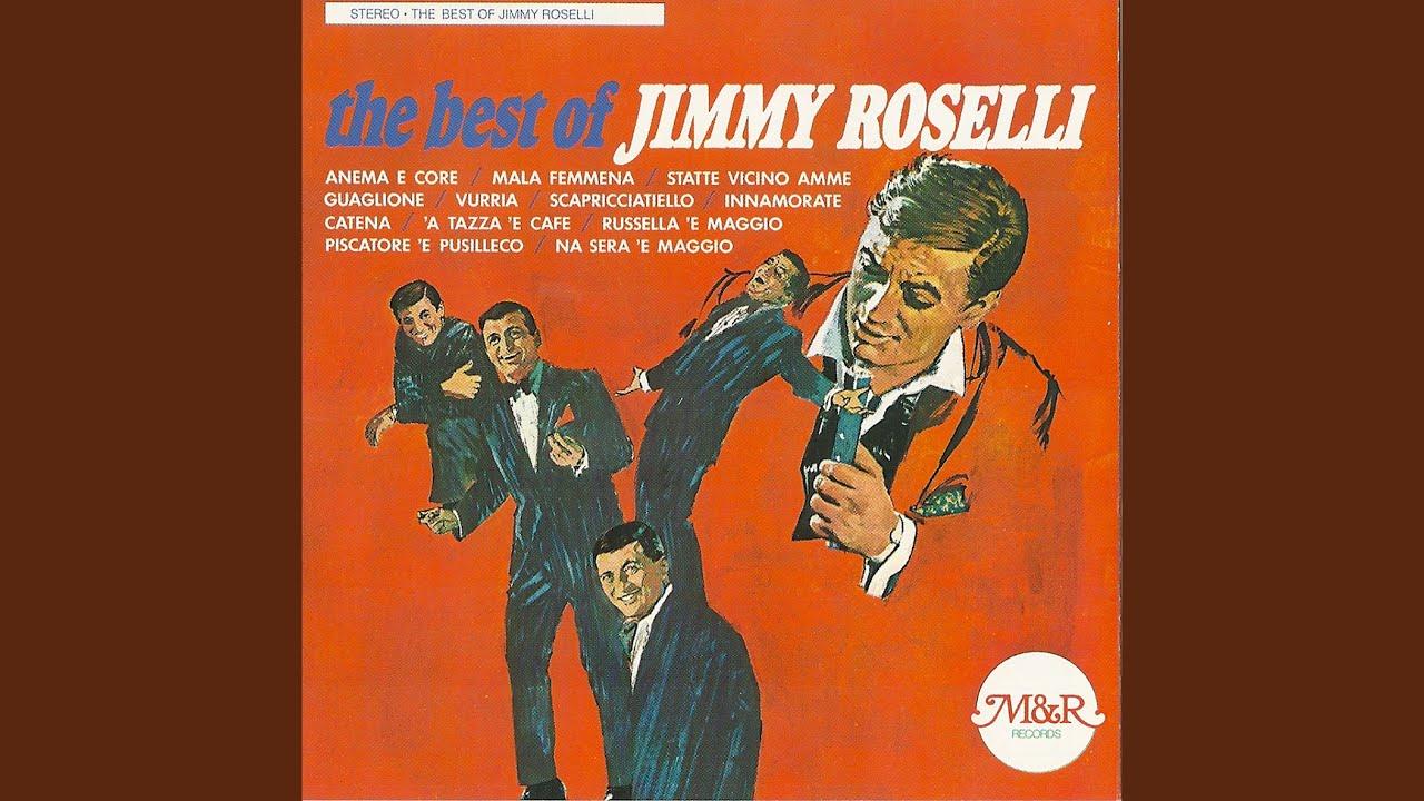 Jimmy Roselli sings Anema E Core
