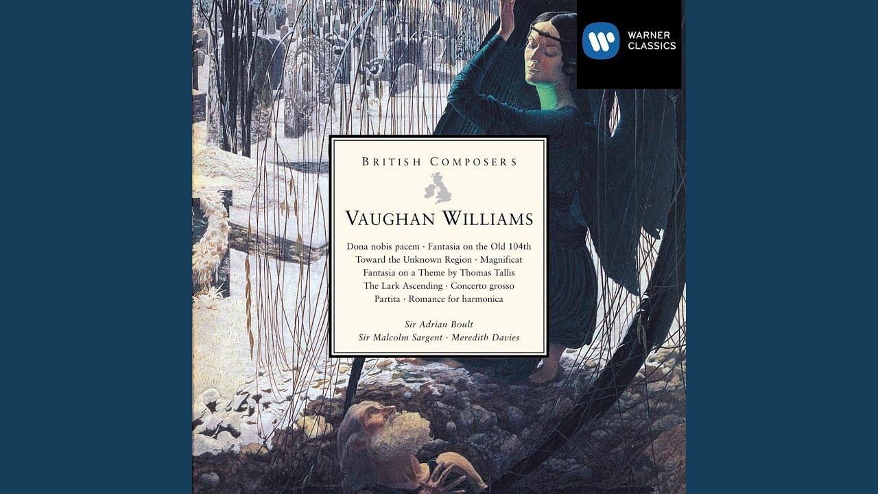 Ralph Vaughan Williams: O Man, Greatly Beloved