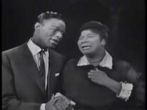 "Mahalia Jackson and Nat King Cole sing ""Steal Away"""