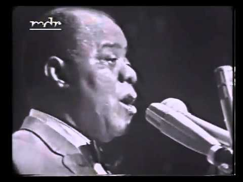 """Louis Armstrong performs """"Black and Blue"""""""
